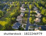 Aerial Panoramic View Of House...
