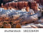 scenic view of bryce canyon... | Shutterstock . vector #182226434