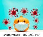 October And Autumn Pumpkin...