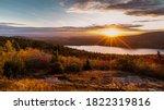 Beautiful Landscape Sunset In...