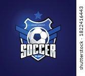 soccer football badge logo...   Shutterstock .eps vector #1822416443