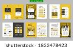 brochure creative design.... | Shutterstock .eps vector #1822478423