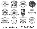 set of disinfection and...   Shutterstock .eps vector #1822613240