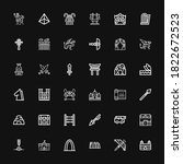 Editable 36 Ancient Icons For...