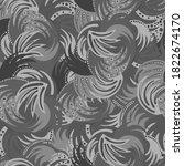 grey seamless vector abstract... | Shutterstock .eps vector #1822674170