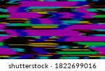 abstract glitchy background.... | Shutterstock . vector #1822699016