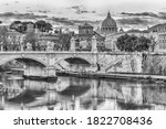 Beautiful View Over The Tiber...
