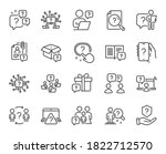 questions line icons....   Shutterstock .eps vector #1822712570