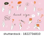 it is an illustration set of...   Shutterstock .eps vector #1822736810