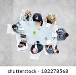 group of  business people... | Shutterstock . vector #182278568