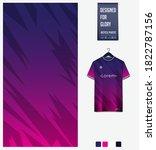 fabric textile design. thunder... | Shutterstock .eps vector #1822787156