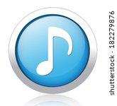 music note button   Shutterstock .eps vector #182279876