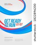 poster design with loop element ... | Shutterstock .eps vector #1822896200