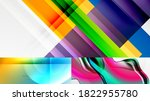 geometric abstract backgrounds... | Shutterstock .eps vector #1822955780