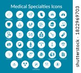 Thirty Five  Medical Specialty...