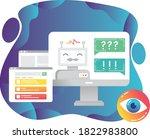 study robotics and artificial...   Shutterstock .eps vector #1822983800