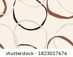 minimalist elegant abstract... | Shutterstock .eps vector #1823017676