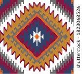 tribal ethnic motifs geometric...   Shutterstock .eps vector #1823068526