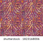 Vintage Texture Seamless Zebra...