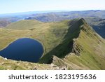 Striding Edge Helvellyn In The...