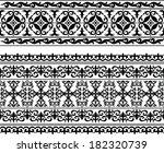 oriental pattern | Shutterstock .eps vector #182320739