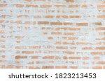 Front View Of Orange Brick In...