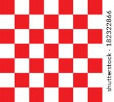 Red Checkered Abstract...