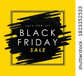 black friday sale layout... | Shutterstock .eps vector #1823352533