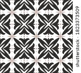 vintage seamless pattern with... | Shutterstock .eps vector #1823373509