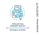 intellectual property rights... | Shutterstock .eps vector #1823376179