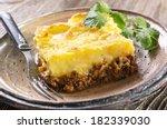 shepherd's pie  | Shutterstock . vector #182339030