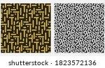 abstract seamless pattern ... | Shutterstock .eps vector #1823572136