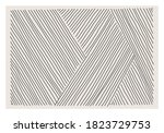 trendy abstract aesthetic... | Shutterstock .eps vector #1823729753