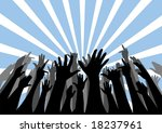 vector silhouettes of an... | Shutterstock .eps vector #18237961