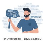 World Hello Day November 21. A...