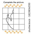 educational game for children.... | Shutterstock .eps vector #1823836550