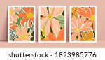 vector collection of three... | Shutterstock .eps vector #1823985776
