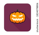 halloween pumpkin  scary or... | Shutterstock .eps vector #1824078806