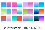 colour palette catalog samples... | Shutterstock .eps vector #1824166706