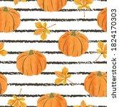 seamless abstract autumn... | Shutterstock .eps vector #1824170303
