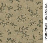 seamless vector patterd design. ... | Shutterstock .eps vector #1824207566