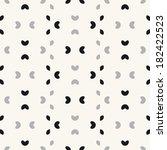 seamless pattern  stylish...   Shutterstock .eps vector #182422523
