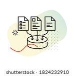 data analytics   data... | Shutterstock .eps vector #1824232910