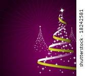 illustration of a christmas... | Shutterstock . vector #18242581