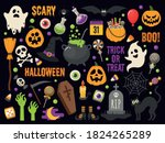 set of vector characters and... | Shutterstock .eps vector #1824265289