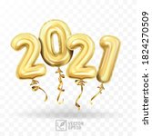 3d realistic isolated vector... | Shutterstock .eps vector #1824270509