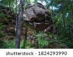 Geometric Stone Rocks Covered...