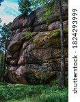 Large Geometric Stone Red Rocks ...