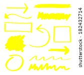 arrow,box,brush,circle,clipart,collection,curve,design,digital,direction,doodle,drawing,drawn,element,eps10