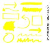 yellow vector highlighter...